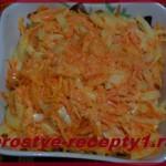 Салат из варёной моркови