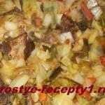 Баранина с капустой — отличный вариант для обеда или ужина