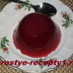 Желе из клюквы — трясучий десерт