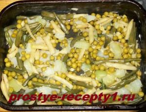 омлет с овощами 3
