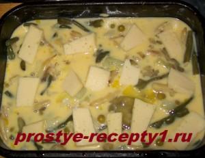 омлет с овощами 5