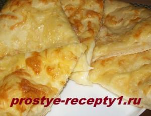 Хачапури с сыром готово