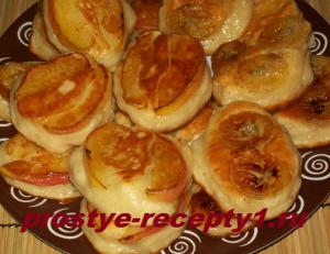 Оладушки с яблоками, пошаговый рецепт с фото
