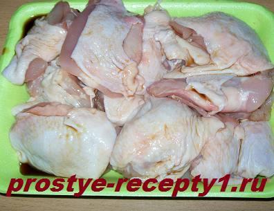 Маринуем курицу в соевом соусе