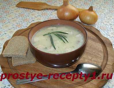 Суп-пюре из цветной капусты готов!